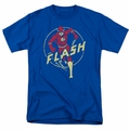 Flash t-shirt Flash Comics mens royal blue