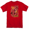 Flash t-shirt Flash Lightning mens red