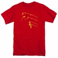 Flash t-shirt Flash Min mens red