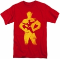 Flash t-shirt Knockout mens red