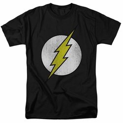 Flash t-shirt Logo Distressed mens black
