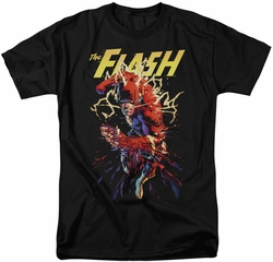 Flash t-shirt Ripping Apart mens black