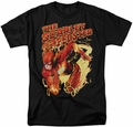 Flash t-shirt Scarlet Speedster mens black