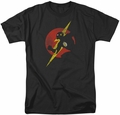 Flash t-shirt Symbol Knockout mens black