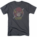 Flash t-shirt Vintage Voltage mens charcoal