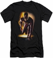 Flash TV slim-fit t-shirt Barry in Suit mens black