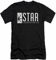 Flash TV slim-fit t-shirt Star Laboratories mens black