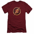 Flash TV slim-fit t-shirt Symbol mens red