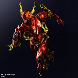 Flash Variant action figure Play Arts Kai *box dings*