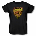 Flash womens t-shirt Blazing Speed black