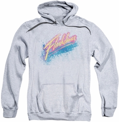 Flashdance pull-over hoodie Spray Logo adult athletic heather