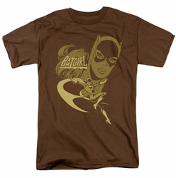 Flying Batgirl DC Originals mens t-shirt