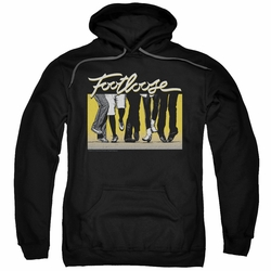 Footloose pull-over hoodie Dance Party adult black