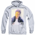 Footloose pull-over hoodie Lets Dance adult athletic heather