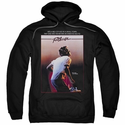 Footloose pull-over hoodie Poster adult black