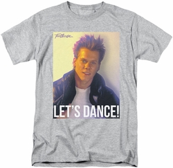 Footloose t-shirt Lets Dance mens athletic heather
