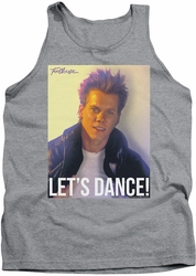 Footloose tank top Lets Dance mens athletic heather