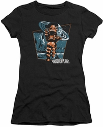 Forbidden Planet juniors t-shirt Robby Walks black