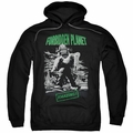 Forbidden Planet pull-over hoodie Robot Poster adult black