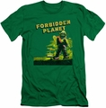 Forbidden Planet slim-fit t-shirt Old Poster mens kelly green