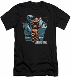 Forbidden Planet slim-fit t-shirt Robby Walks mens black