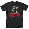 Forbidden Planet t-shirt Robby And Woman mens black