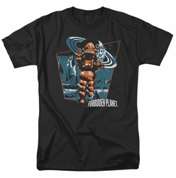 Forbidden Planet t-shirt Robby Walks mens black