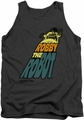 Forbidden Planet tank top Robby The Robot mens charcoal