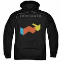 Foreigner pull-over hoodie Agent Provocateur adult Black