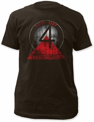 Foreigner tour 81-82 fitted jersey tee pre-order