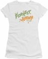 Forrest Gump juniors t-shirt Peas And Carrots white