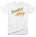 Forrest Gump t-shirt Peas And Carrots mens white