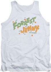 Forrest Gump tank top Peas And Carrots mens white