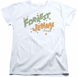 Forrest Gump womens t-shirt Peas And Carrots white