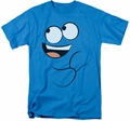Foster's Home Of Imaginary Friends t-shirt Blue Smile mens turquoise