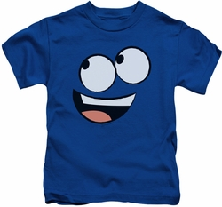 Foster's kids t-shirt Blue Face royal