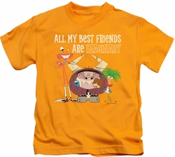 Foster's kids t-shirt Imaginary Friends gold