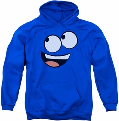 Foster's pull-over hoodie Blue Face adult royal blue