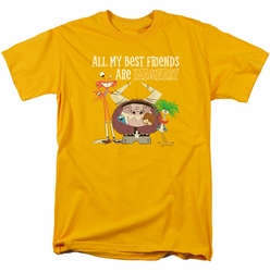 Foster's t-shirt Imaginary Friends mens gold