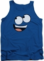 Foster's tank top Blue Face mens royal