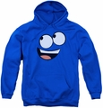 Foster's youth teen hoodie Blue Face royal blue