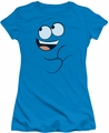 Fosters juniors t-shirt Blue Smile turquoise