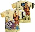 Fosters mens full sublimation t-shirt Funny Friends