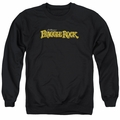 Fraggle Rock adult crewneck sweatshirt Logo black