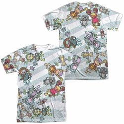Fraggle Rock mens full sublimation t-shirt Cyclone