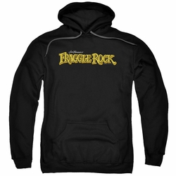 Fraggle Rock pull-over hoodie Logo adult black