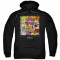 Fraggle Rock pull-over hoodie Squared adult black