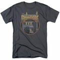 Fraggle Rock t-shirt Doozers Construction mens charcoal