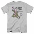 Fraggle Rock t-shirt Dream Big mens silver