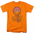 Fraggle Rock t-shirt Gobo Rocks mens orange